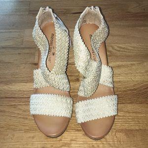 Montego Bay Club high heel wedges